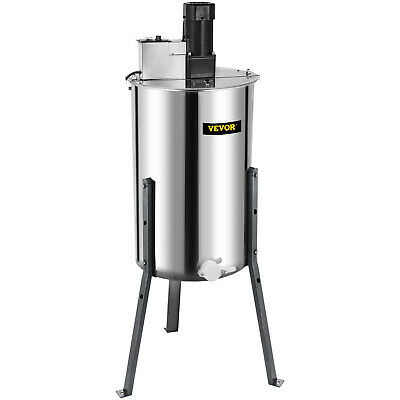 3/6 Frame Electric Honey Extractor Beekeeping Stainless Steel W/ 3 Legs