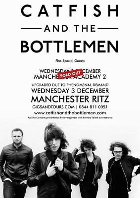"190 Catfish and the Bottlemen - Wales Alternative Rock Music 24""x33"" Poster"