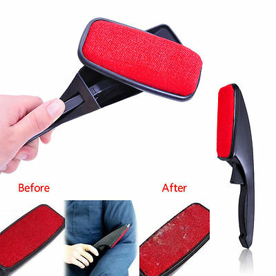 New 360 Swivel Lint Fluff Fabric Clothes Dust Brush Pet Hair Remover Dry Cleaner