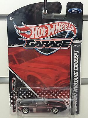 2011 hot wheels garage 39 62 ford mustang concept ford 9 20 for Garage ford 62