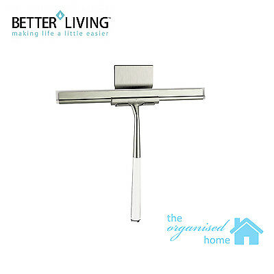 Better Living Linea Luxury Shower Squeegee Stainless Steel