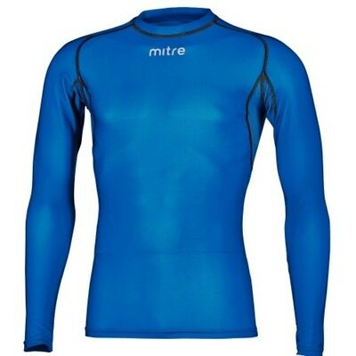 Mitre YOUTH Long Sleeve Compression Top- Royal