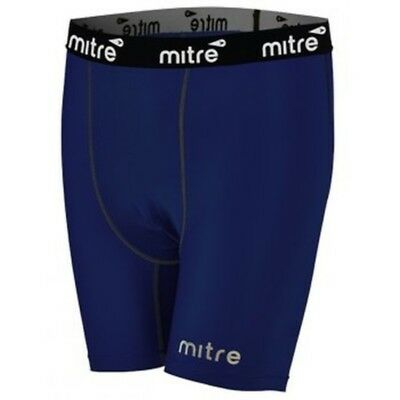 Mitre Mens Soccer Compression Short- Navy- SALE