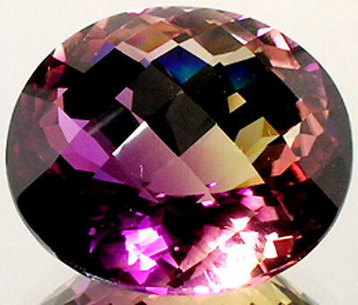 63ct Handcrafted Ametrine Ancient China Russia Roman Gem from India Camel Route
