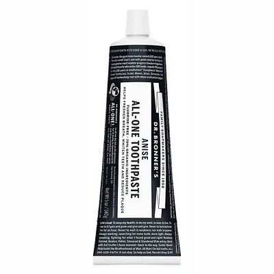 NEW Dr. Bronner's Toothpaste Anise ~ 140g