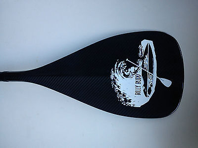 Billy Budd SUP Clasp ADJUSTABLE CARBON FIBRE PADDLE With Carry Bag – Brand New