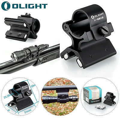 Olight X-WM02 Hunting Magnetic X Tactical Mount for 23-26mm Torches M20SX M3XS