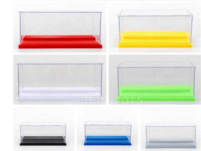 Acrylic Plastic Display Box Dustproof Protection Toy Doll Car Model Show Case