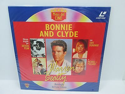 Laser Disc - Bonnie And Clyde
