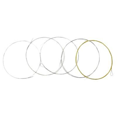 5 pieces Banjo Accessory String Copper Alloy Durable Strings Backup BJ11 Set