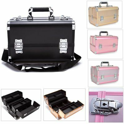 Professional Portable Cosmetic Case Beauty Box Nail Makeup Case Organiser