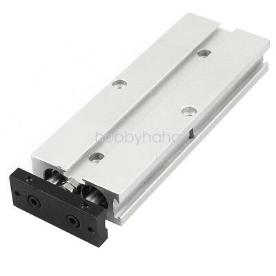 TN10X100  Dual Action 10mm Bore 100mm Stroke Double Rod Pneumatic Air Cylinder