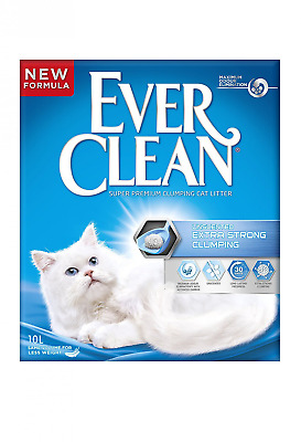 Ever Clean Extra Strong Clumping Cat Litter 10 Litre, Unscented