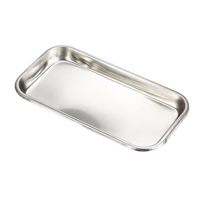 Medical Stainless Steel Box Tray for Instruments Set Up Dental Surgical Lab GQ10