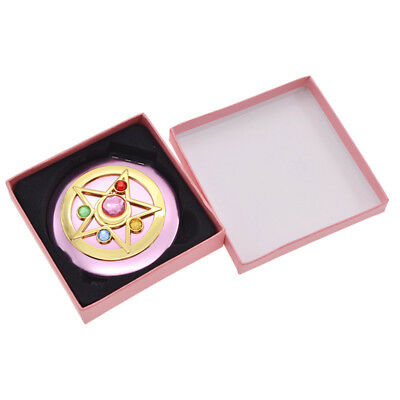 Japanese Anime Sailor Moon Crystal Star Makeup Mirror Women Make up Cosmetic