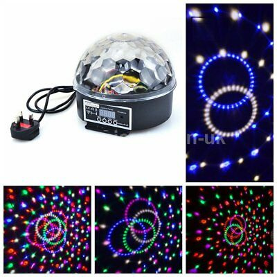 Crystal Magic Ball Laser Stage Light Party Disco DJ Bar Lighting Show DMX512