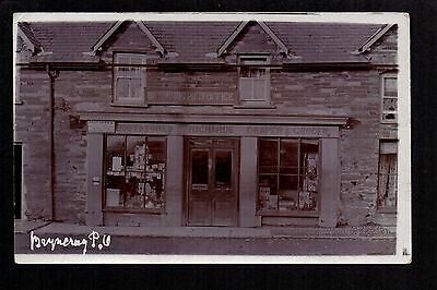 Bryncruc Post Office - real photographic postcard