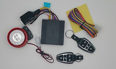 Motorcycle Motorbike Motorguard Bike Alarm Immobiliser & Remote Start