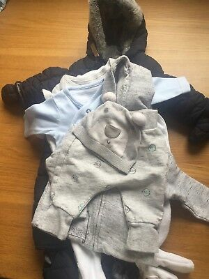Baby Boys Clothing Bundle 0 - 3 Months Mixed Lables