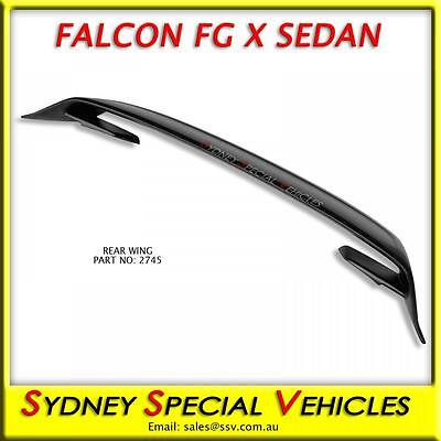 Gt Style Rear Wing For Fg X Falcon Sedan Fgx, Fg-X, Brand New Boot Spoiler