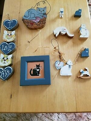 Country cat decor