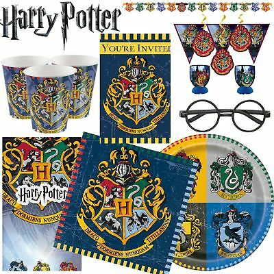 HARRY POTTER Gryffindor Hogwarts Wizard Happy Birthday tableware