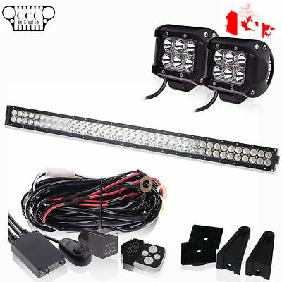 "40""42"" LED Light Bar+Remote Switch 2014- 2017 Polaris Ace 500 570 900 SP 2880530"