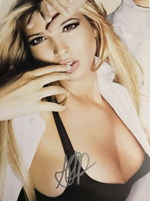 Ivanka Trump autographed 8x10 photo RP