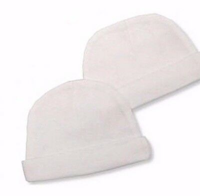 Premature Baby Beanie Hat Tiny Small  2 Pack