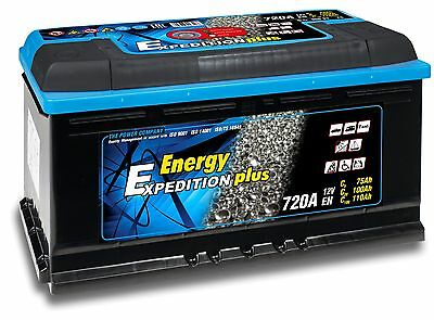 12V 110AH Expedition Plus Semi Traction Boat Battery 4 Year Warranty