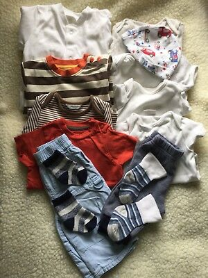 Pre-loved/ 0-3 Month/boy :Clothes Bundle B9