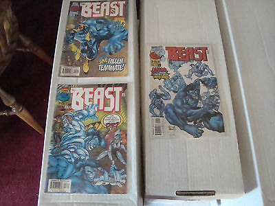 Beast 1-3 Complete X-Men Marvel Comic Book Limited Series From 1997 NM Condition