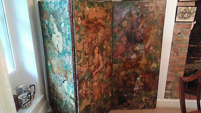 Vintage Decoupage screen