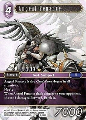 FOIL	Angeal Penance 	3-099R	Rare  NM Final Fantasy TCG  OPUS 3 iii