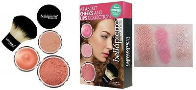 BELLAPIERRE All About Cheeks And Lips Collection (Pink, 4tlg.) NEU&OVP