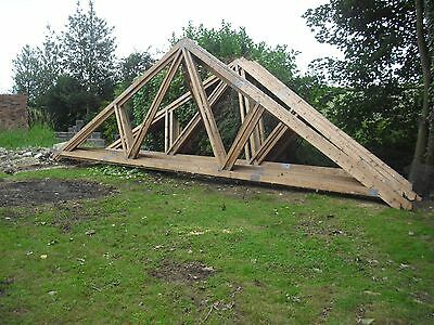 Used roof trusses   (18 in all)