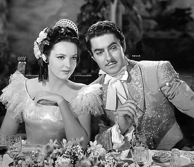Tyrone Power, Jr. and Linda Darnell UNSIGNED photo - K23 - The Mark of Zorro