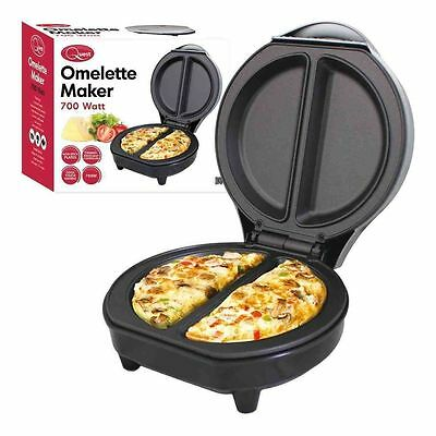 Quest Electric 700W Non Stick Omelette Maker Egg Breakfast Cooker Frying Pan