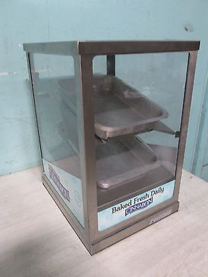 """""""round-Up"""" H.d. Commercial Lighted Bakery Counter-Top Merchandiser/display Case"""