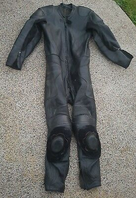 Leather Motorcycle Motorbike Suit One piece Size 50