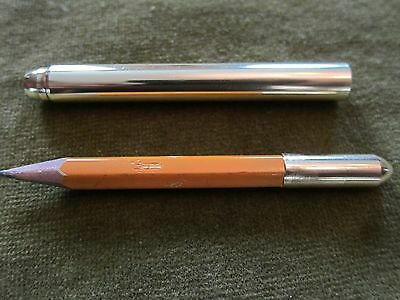 Solid Brass Handmade Bullet Pencil Inspired Pencil-Pal