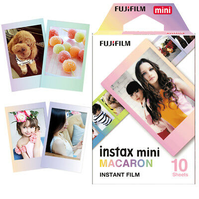 Fujifilm Mini Instax 10 Macaroon Film For Fuji Instant 8 7 50 90 70 Camera SP-2