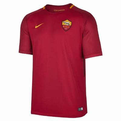 Nike AS Roma Home Shirt 2017/18 - Mens