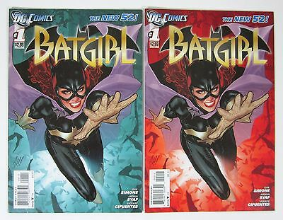Batgirl #1 First and Second Print Adam Hughes Cover Joss Whedon Movie DC
