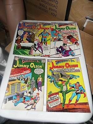 Superman's Pal Jimmy Olsen lot of 5 books #92 #94 #96 #97 and #98