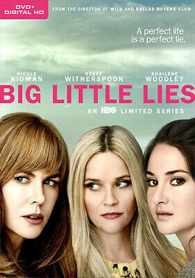 Big Little Lies: Season 1 - 3 DISC SET (REGION 1 DVD New)
