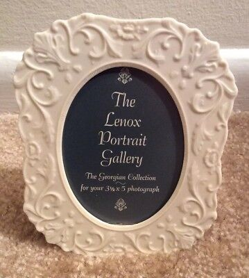 Vintage Lenox Georgian Picture Frame ~ 3-1/2 x 5 ~ New in box