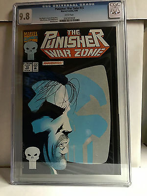 THE PUNISHER WAR ZONE #15 cgc 9.8 1993 ONLY 9.8