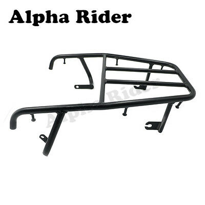 Rear Rack Luggage Tail  Back Shelf For YAMAHA TW200 1987 - 2008 Off Road Black
