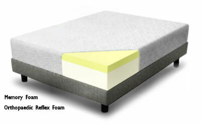 Memory Foam Mattress 5 Inch Single Double King 4Ft6 5Ft Bed Size Matress + Cover
